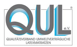 Siegel vom Qualitätsverband umweltverträgliche Latexmatratzen