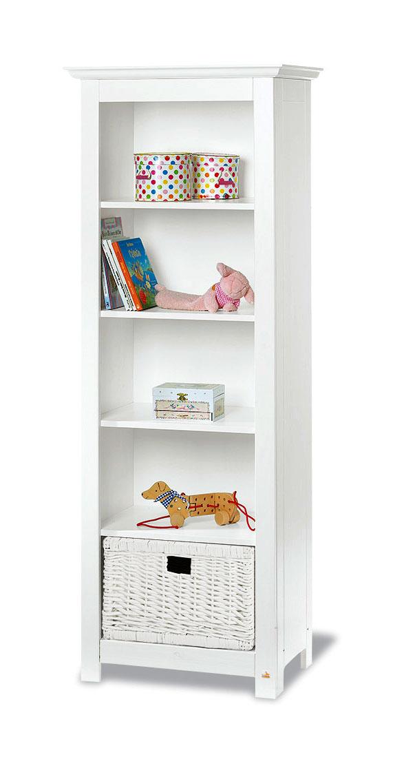 regal kinderzimmer mit weidenkorb g nstig nina. Black Bedroom Furniture Sets. Home Design Ideas