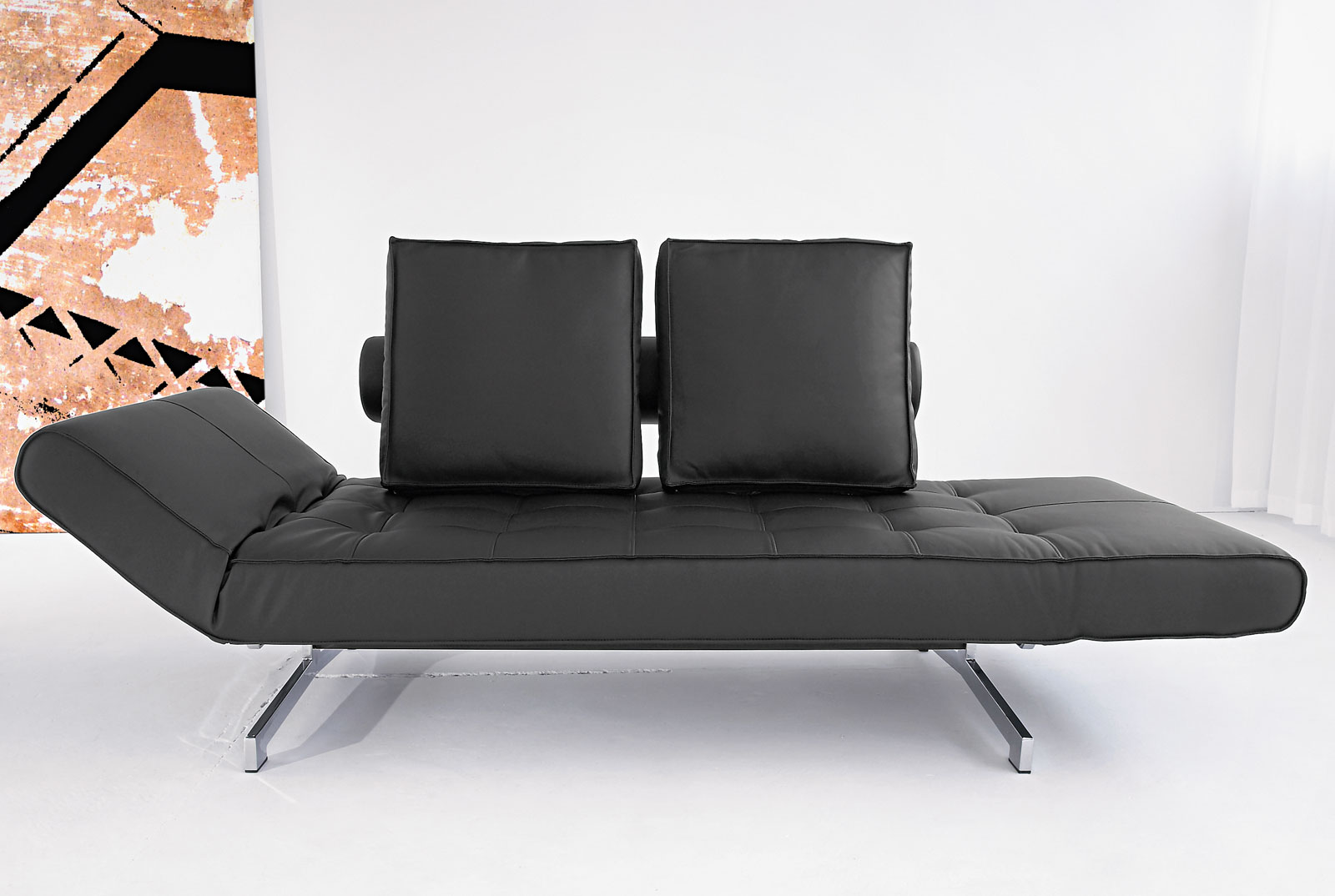 Schlafsofa mit taschenfederkern kaufen judy for Bett mit couch