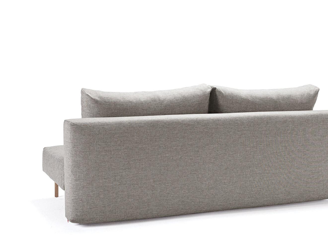 puristisches schlafsofa ausziehbar zum doppelbett hilltown. Black Bedroom Furniture Sets. Home Design Ideas