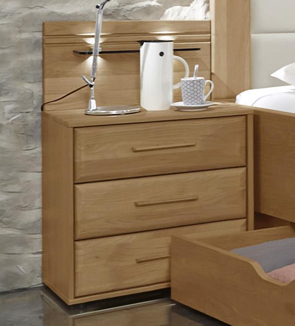 Nachttisch Im Modernen Landhausstil Mit Schubladen - Narita