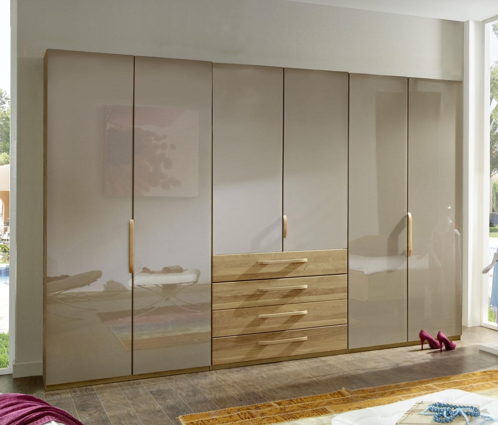 glas faltt ren schrank mit schubladen dartford sahara. Black Bedroom Furniture Sets. Home Design Ideas