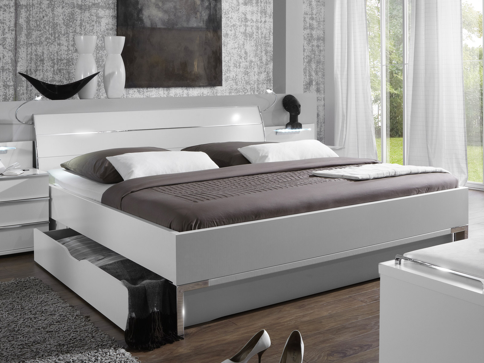 doppelbett m bel einebinsenweisheit. Black Bedroom Furniture Sets. Home Design Ideas