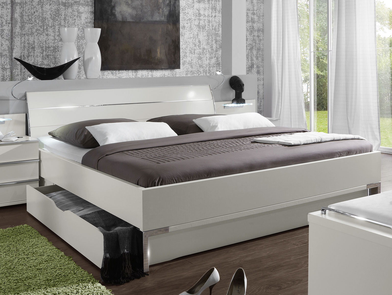 moderne betten lampe bett neu bett design modern living. Black Bedroom Furniture Sets. Home Design Ideas