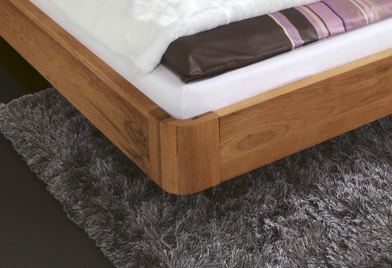 Stylisches Bett Salerno Aus Eiche Gunstig Kaufen Betten De