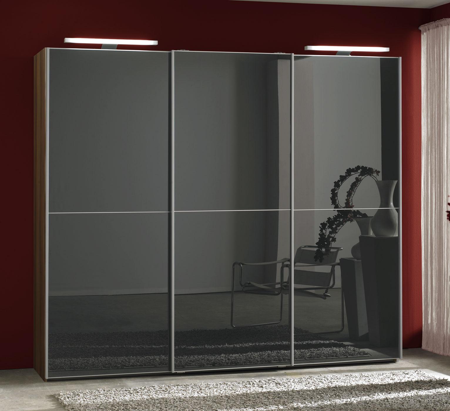 kleiderschrank mit schwebet r g nstig online kaufen perry. Black Bedroom Furniture Sets. Home Design Ideas