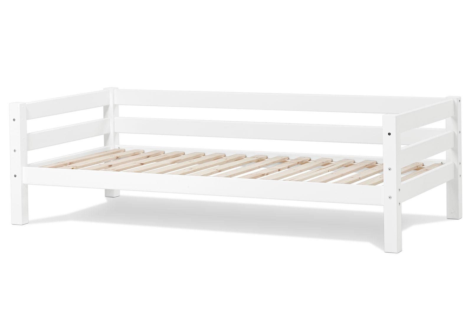 Sofabett kinderzimmer  Sofabett aus Kiefer weiß lackiert 90x200 - Kids Royalty