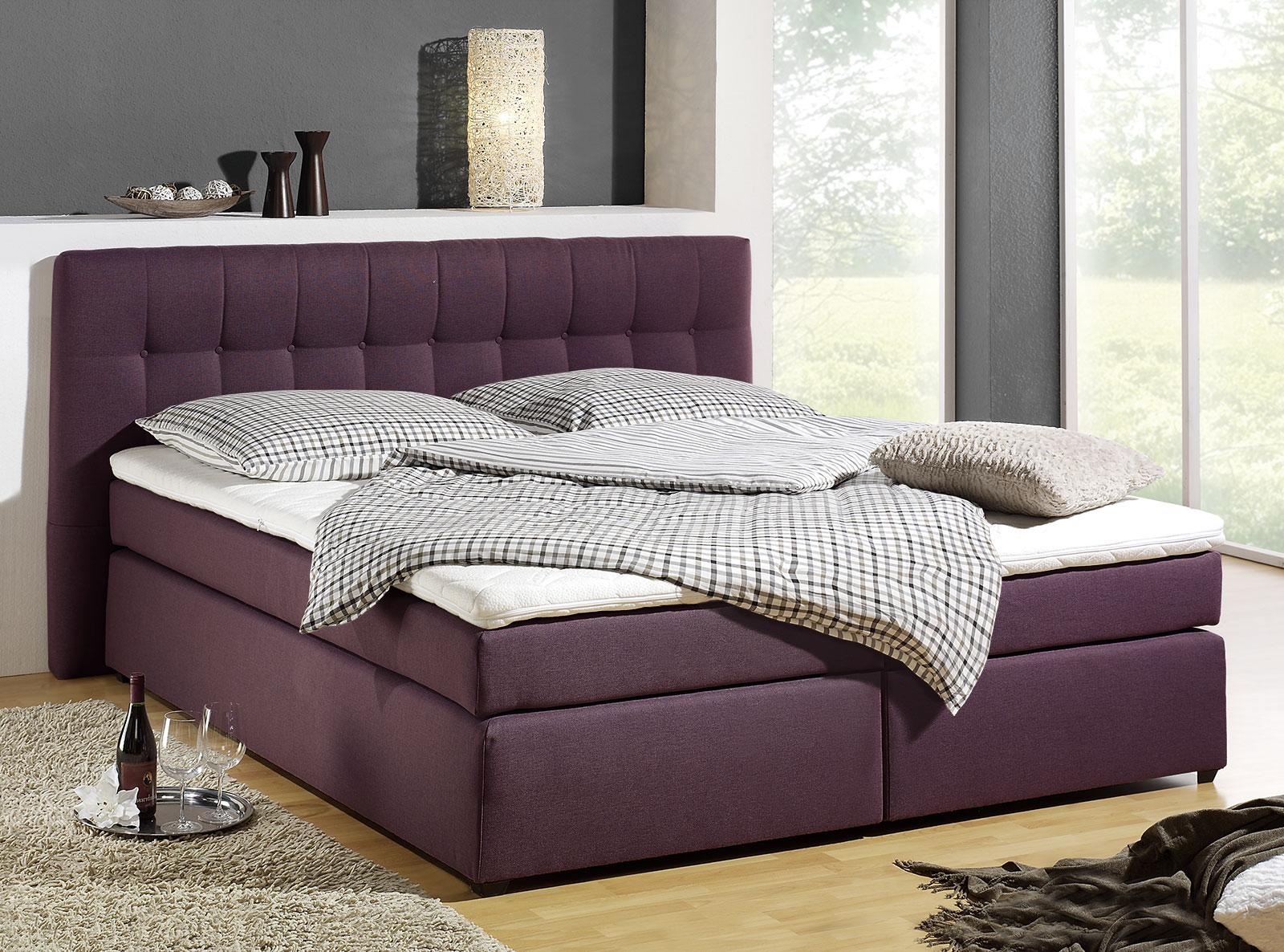boxspringbett in h3 bis 120kg k rpergewicht chicago. Black Bedroom Furniture Sets. Home Design Ideas