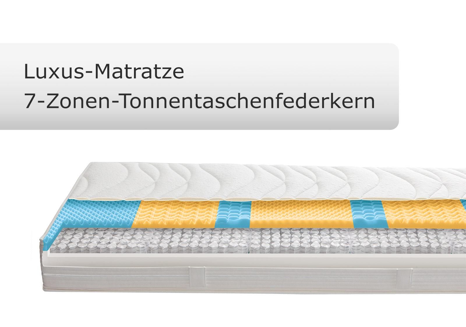 beste anpassungsf higkeit bietet die luxus matratze insbesondere. Black Bedroom Furniture Sets. Home Design Ideas
