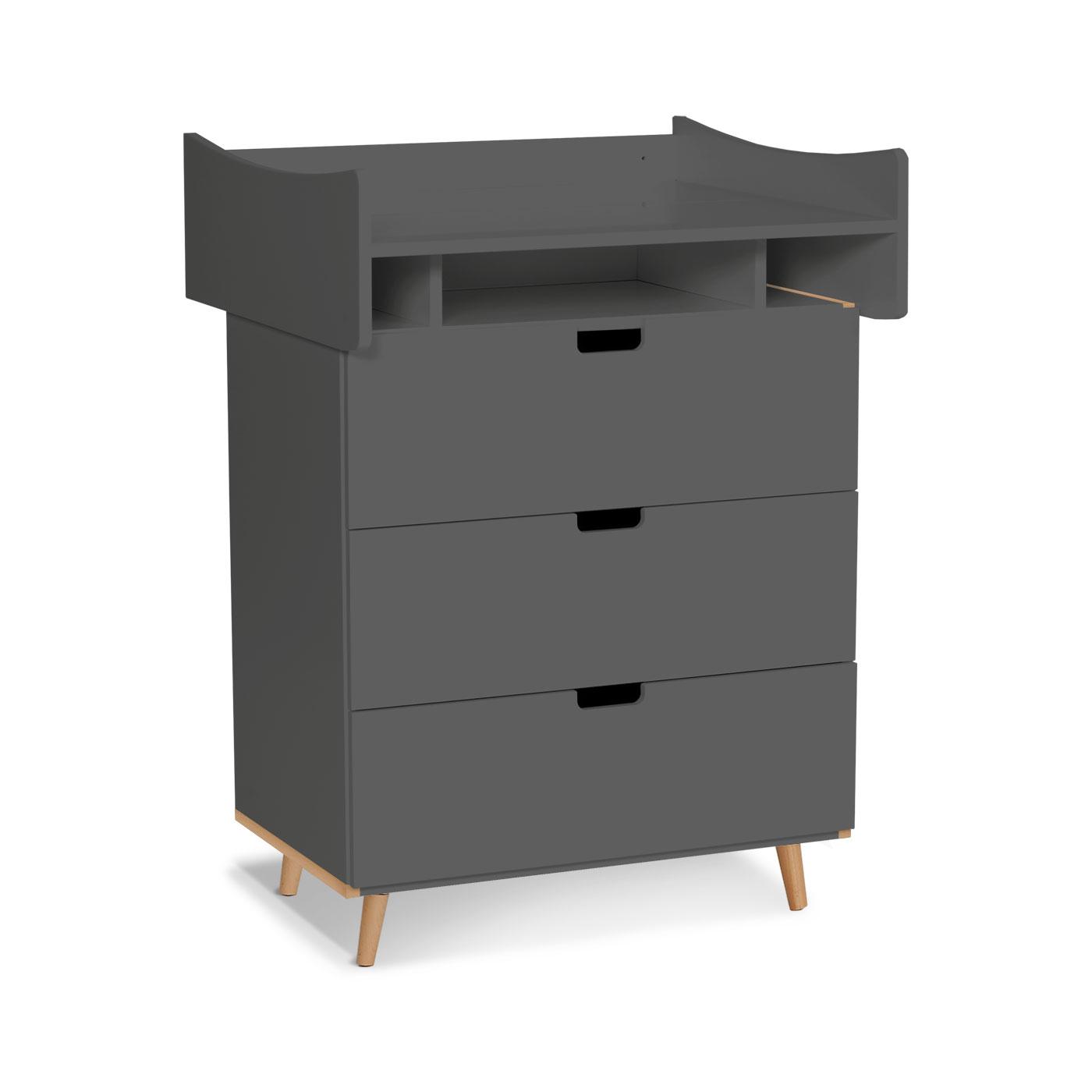 hohe wickelkommode mit aufsatz z b in wei kids town. Black Bedroom Furniture Sets. Home Design Ideas