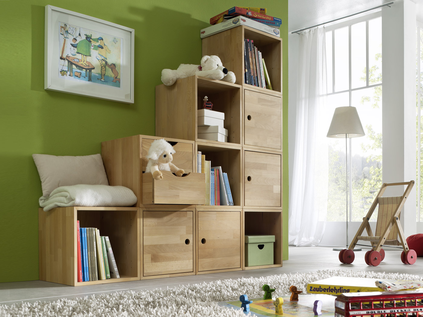 flexibles w rfelsystem aus massiver buche kids fantasy. Black Bedroom Furniture Sets. Home Design Ideas