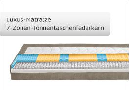 7-Zonen Luxus-Matratze mit TTF