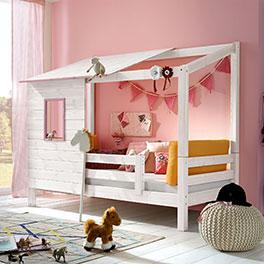 Modernes und hochwertiges Abenteuer-Bett Kids Paradise für Mädchen