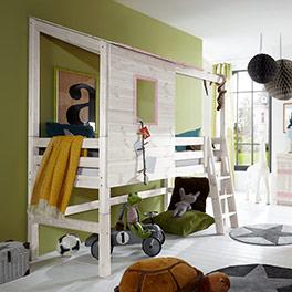 TÜV-geprüftes Abenteuer-Hochbett Kids Paradise