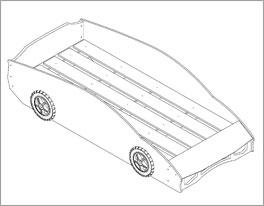 Grafik zum Roll-Lattenrost des Autobetts Match