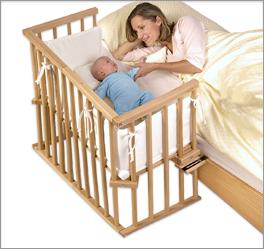Beistellbett BabyBay Midi in geradlinigem Design