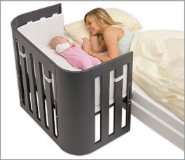 Babybay Trend Beistellbettchen in Grau