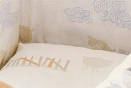Babybett-Set s.Oliver Traumwelt in dezenten Farben