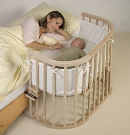 Beistellbett Babybay Original aus massivem Holz