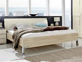 Komfortables Bett Banga in 180x200 cm
