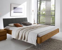 Natürliches und schlichtes Bett Belbari