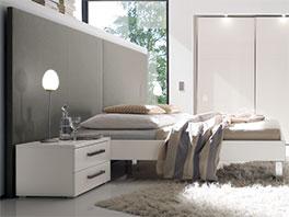 Bett Brescia aus MDF im edlen Design