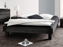Modernes Bett Costa Rica ohne Kopfteil