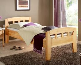 bettgestell massiv aus buchenholz unser bett davos. Black Bedroom Furniture Sets. Home Design Ideas