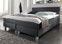 Weiches Boxspringsystem Hawick mit H3