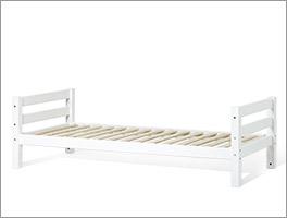Weiß lackiertes Bett Kids Royalty