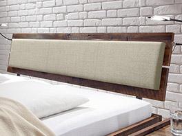 Kopfteil vom Bett Konna aus massivem Holz