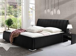 Bett Lewdown mit komfortabler Bettrahmenhöhe