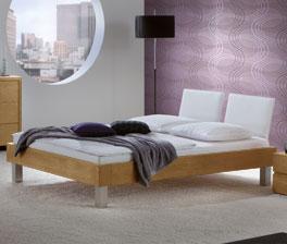 Hochwertiges Bett London aus stabilem Naturholz