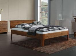 Eiche-Bett in verschiedenen Größen