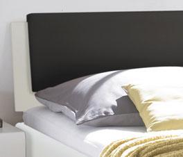 Bett Mendo Kopfteil mit optionalem Einsteckkissen