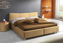 Bett Messina Fusshöhe 9cm
