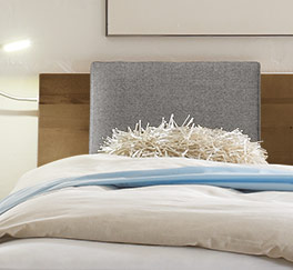 Bett Paleo mit Kopfteil zum Anlehnen