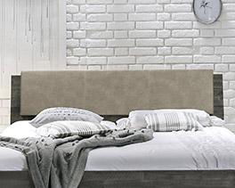 Kopfteil vom Bett Paraiso mit schlichtem Design