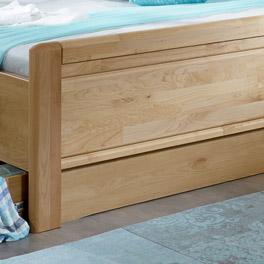 Bett-Schubkasten Trikomo inklusiver hübscher Fußteilverblendung