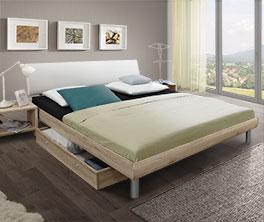 Preiswertes Bett Tanaro in modernem Design