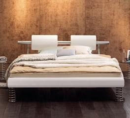 Bett Tebata ist extravagant und stabil