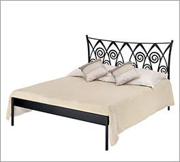 Modernes Bett Trojan ohne Fußteil