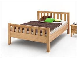 Bett Valencia Komfort mit schlichtem Design