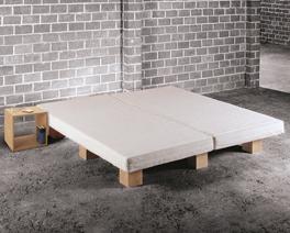 Variables Bett Tojo mit Holzleisten