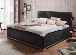 Elegantes Bett Yala mit hohem Kopfteil