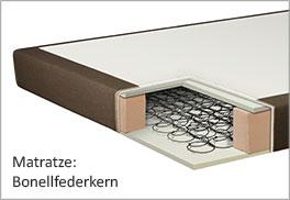 Bonellfederkern-Matratze im Härtegrad H2 H3