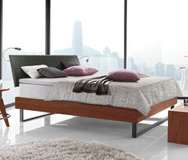 doppelbett aus buche mit boxspring ausstattung agia. Black Bedroom Furniture Sets. Home Design Ideas