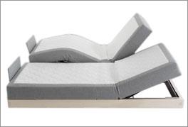 Elektrisch verstellbares Boxspringbett mit Livorno-System