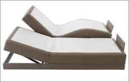 Komfortable Verstellung für Elektro-Boxspringbetten