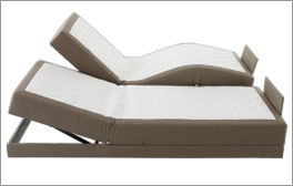 Elektro-Boxspringbett mit komfortabler Verstellung